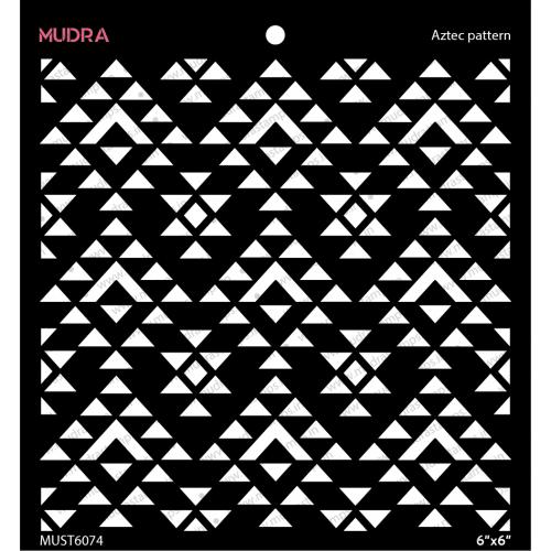 Mudra Stencils - Aztec Pattern