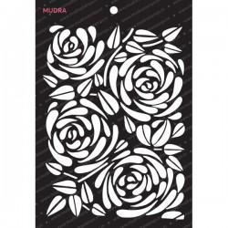 Mudra Stencils - Floral Cluster
