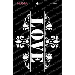 Mudra Stencils - Love
