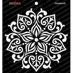 Mudra Stencils - Mandala 2