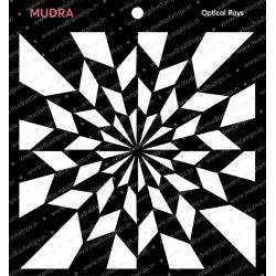 Mudra Stencils - Optical Rays