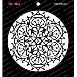Mudra Stencils - Warli Mandala