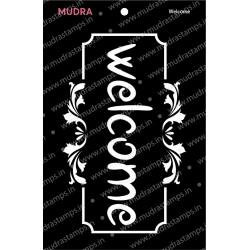 Mudra Stencils - Welcome