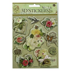3D Stickers by LianFa (Medium) - Design 19