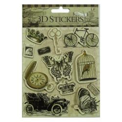 3D Stickers by LianFa (Medium) - Design 24