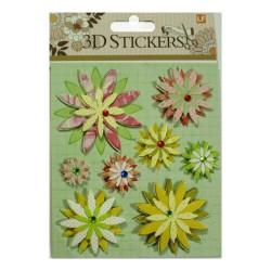 3D Stickers by LianFa (Medium) - Design 2