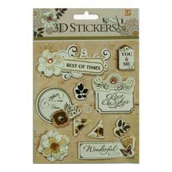 3D Stickers by LianFa (Medium) - Design 23