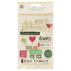 3D Stickers by LianFa  - Family