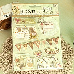 3D Stickers by Eno Greeting (SS1502)