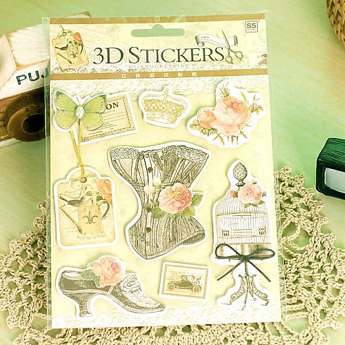 3D Stickers by Eno Greeting (SS1515)