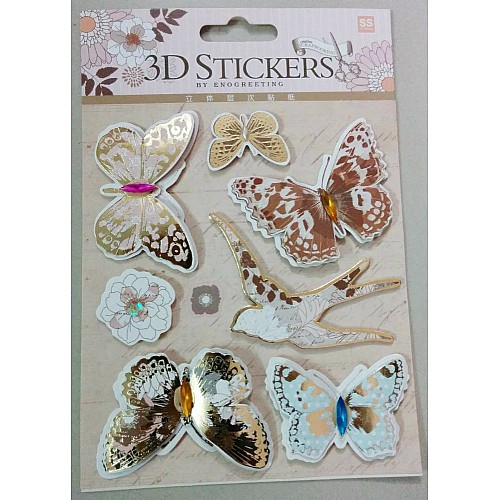 3D Stickers by Eno Greeting - Design 4
