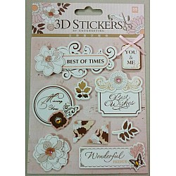 3D Stickers by Eno Greeting - Design 10