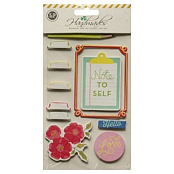 Handmade dimensional stickers - Everyday Sentiments