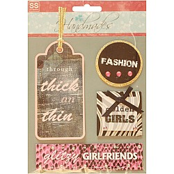 Handmade Stickers - Girlfriends