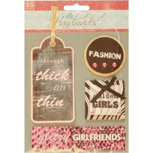 Handmade Stickers - Girlfriends