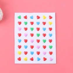 Enamel Dots - Hearts (Design 1)
