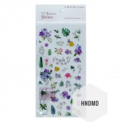 Epoxy Stickers - Lavender flowers
