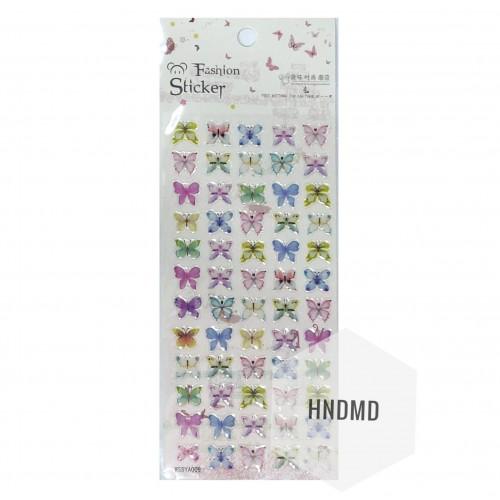 Epoxy Stickers - Tiny Butterflies