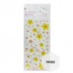 Epoxy Stickers - Simple Flowers