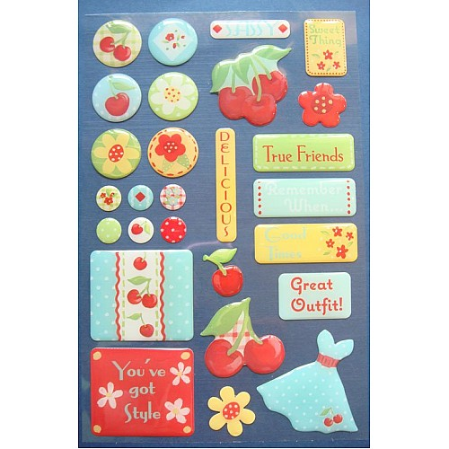 Creative Imaginations Stickers - Girly