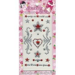 Hearts & Swirls Stickers