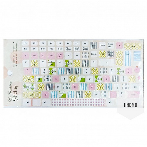 Keyboard Stickers - Colorful Accents