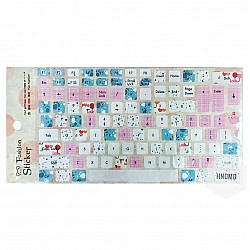 Keyboard Stickers - Colorful Elements