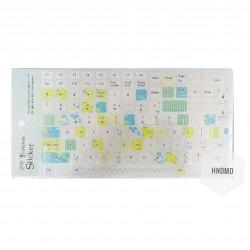 Keyboard Stickers - Spring Flowers