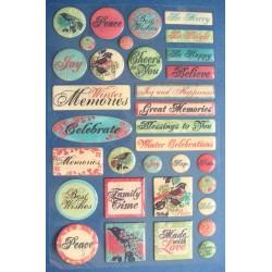 Creative Imaginations Stickers - Memories