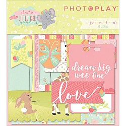 Photoplay cardstock Ephemera Pack - About A Little Girl (26/pkg)