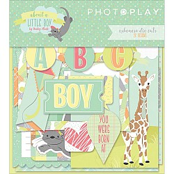 Photoplay cardstock Ephemera Pack - About A Little Boy (26/pkg)