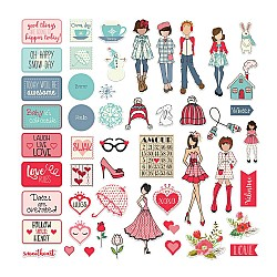 Prima Julie Nutting Ephemera Pack - January and February (102/pkg)