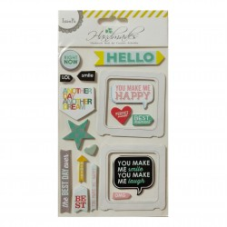 3D Stickers by LianFa  - Hello