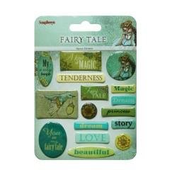 Scrapberrys Epoxy Sticker - Fairy Tale