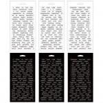 Tim Holtz Idealogy Spiral Bound Sticker Book - Big Chat (6 sheets/pkg)