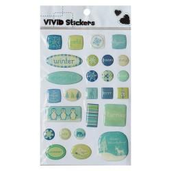 Vivid Stickers - Winter