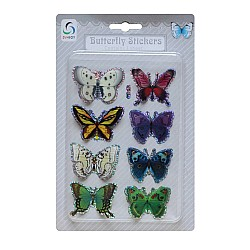 Butterfly Stickers - Muted Bright Collection