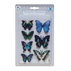 Butterfly Stickers - Shades of Blue and Green