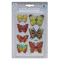 Butterfly Stickers - Shades of Yellow and Red