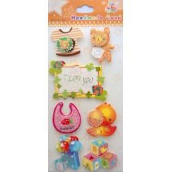 Toys Glitter Sticker