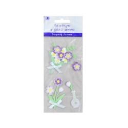 DingDong Stickers - Floral Vase