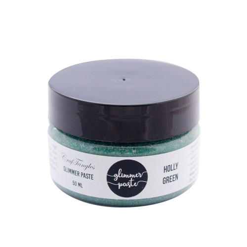 CrafTangles Glimmer Paste - Holly Green