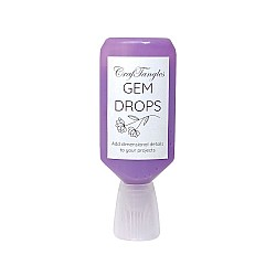 CrafTangles Gem Drops - Amethyst (30 ml)