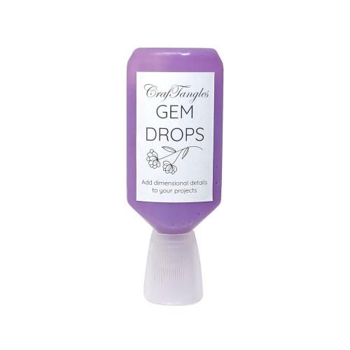 CrafTangles Gem Drops - Amethyst (30 ml)
