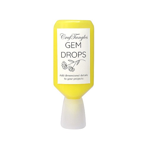 CrafTangles Gem Drops - Yellow Citrine (30 ml)