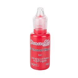 Dovecraft 3D Enamel Effects Glue - Red