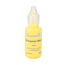 Dovecraft 3D Enamel Effects Glue - Yellow