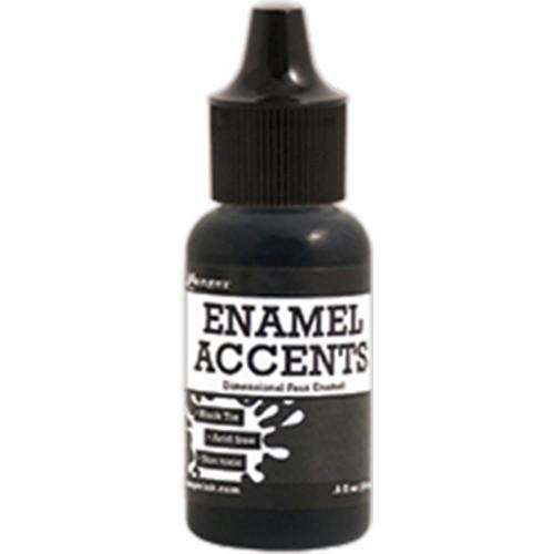 Ranger Enamel Accents - Black Tie (0.5 oz)