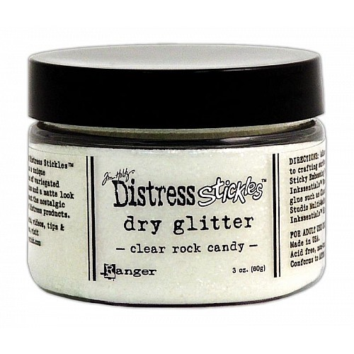Tim Holtz Clear Rock Candy Dry Glitter