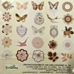 EnoGreeting Die Cut Pack (25 pcs) - Design 4
